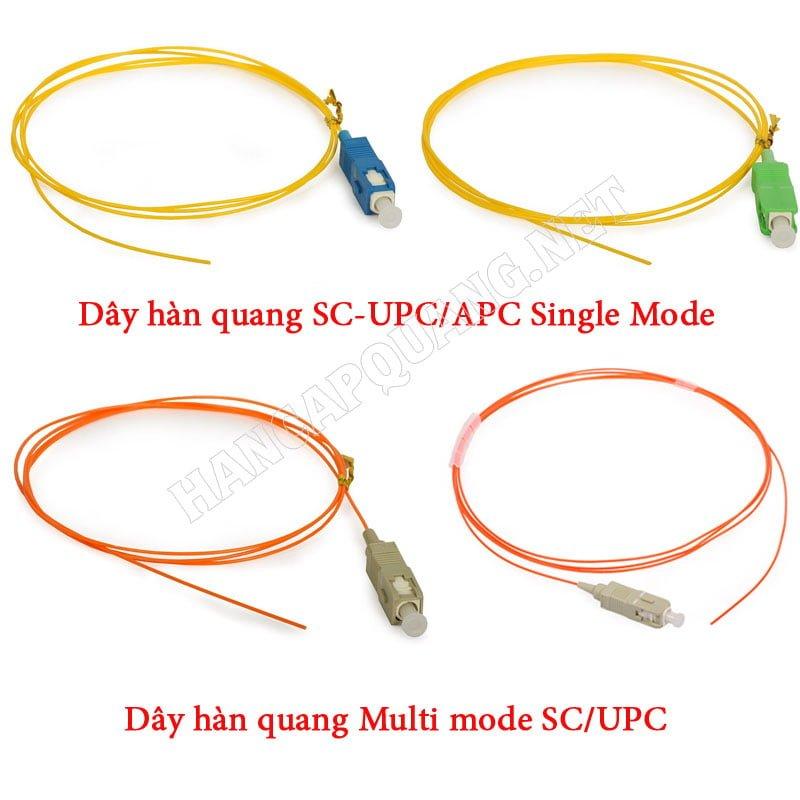 Dây hàn quang SC/UPC