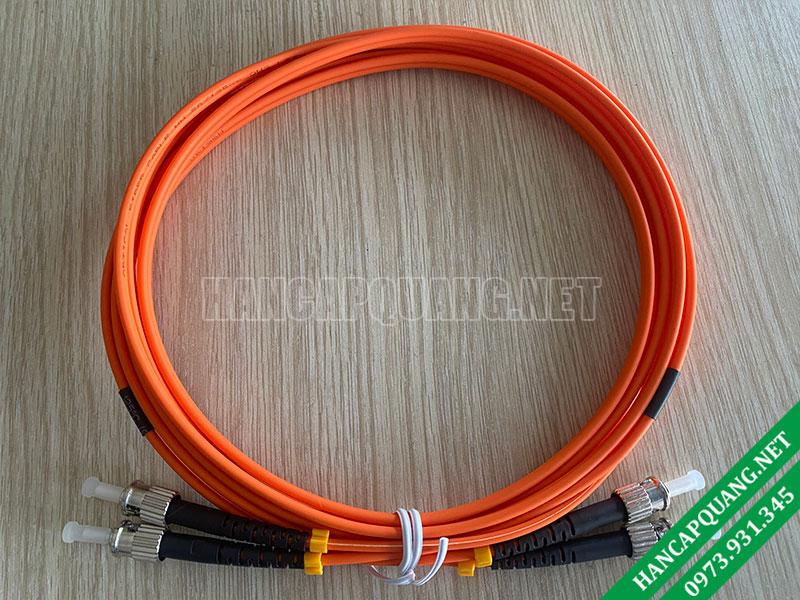 Dây nhảy quang ST-ST/UPC Duplex OM2 3M