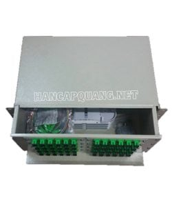 Hộp phối quang ODF 96FO đầy đủ phụ kiện gắn rack 19″