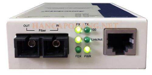 Đèn converter quang 3One data 10/100M mất tín hiệu Lan