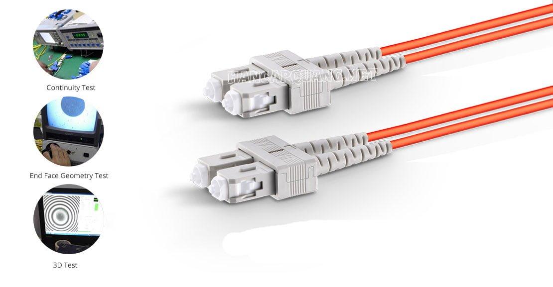 Ứng dụng của dây nhảy quang SC-SC Multimode