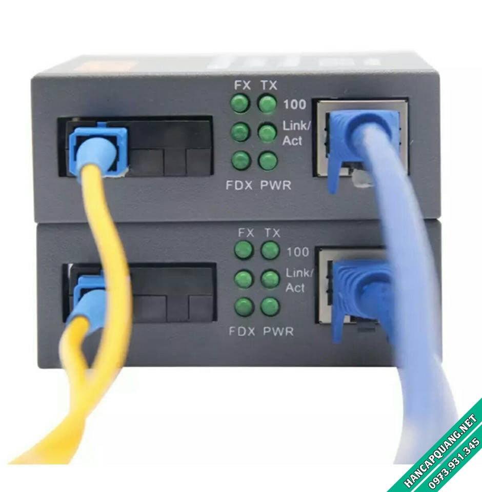 Bộ chuyển đổi quang điện Netlink HTB-1100S 25Km