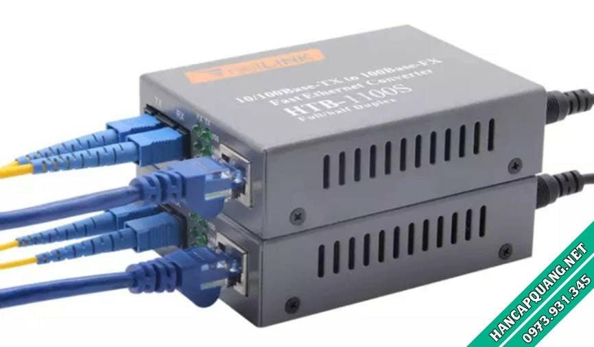 Converter HTB-1100S 25Km 10/100 Netlink