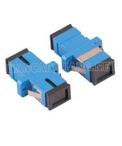 Đầu nối quang SC-SC UPC Simplex (Xanh dương)