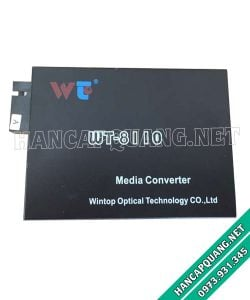 Converter quang wintop WT-8110 1 sợi quang