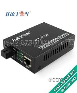 Converter quang BT-950SM 10/100/1000M 25Km 1 sợi