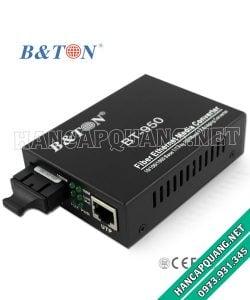 Converter quang BT-950SM 10/100/1000M 25Km 2 sợi