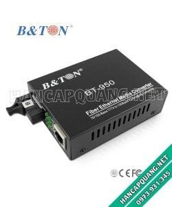 Converter quang BTON 950SM 10/100M 25Km 1 sợi quang