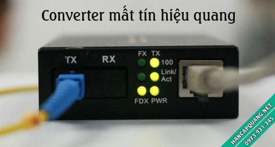 Converter quang điện mất tín hiệu quang