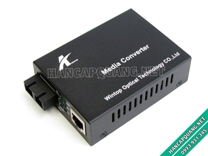 YT-8110GMA-11-2-AS Bộ chuyển đổi quang điện Multimode 10/100/1000M