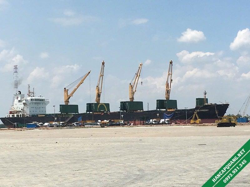 Hàn cáp quang cảng Hiệp Phước - HCM