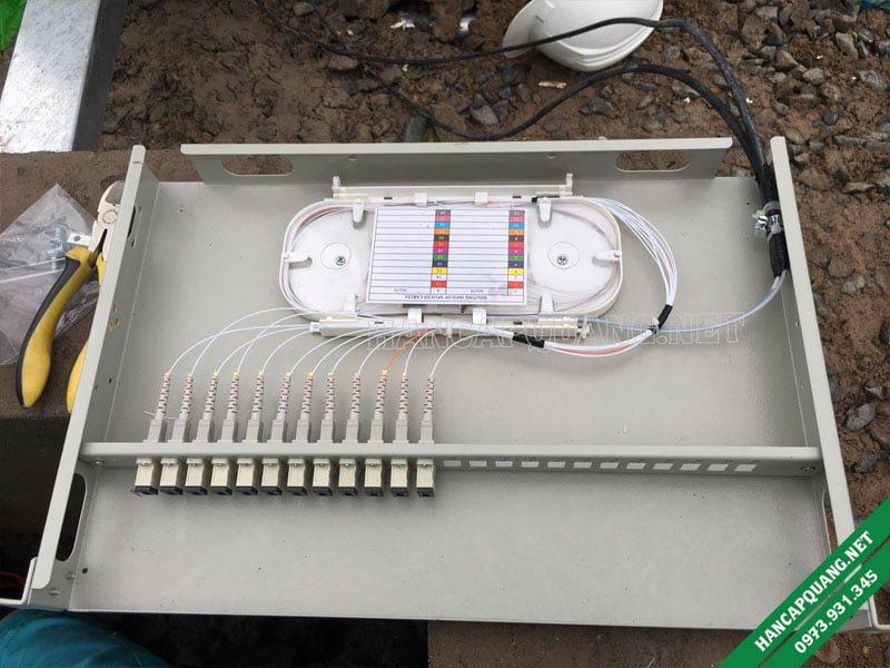 Hộp phối quang ODF 12FO SC Multimode
