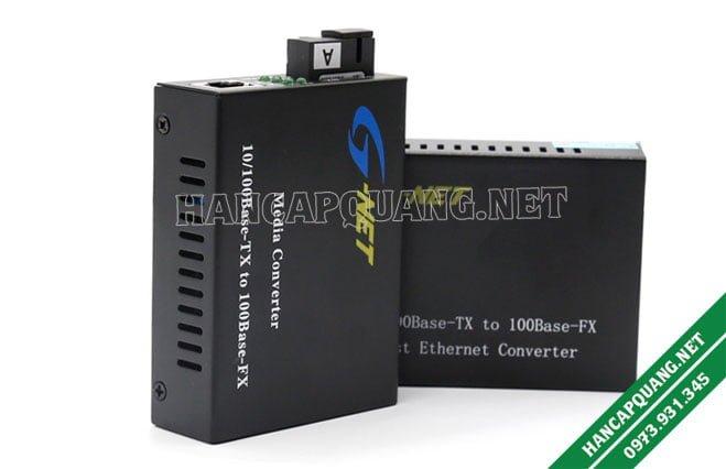 Converter quang Gnet HHD-110G-20 A/B 10/100Mbps