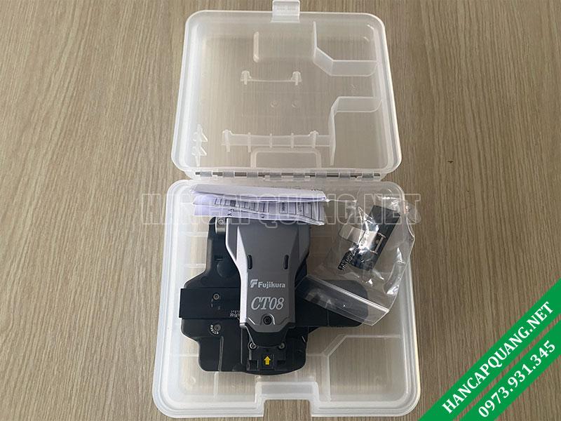 Đập hộp bộ dao cắt Fujikura CT-08 Nhật Bản