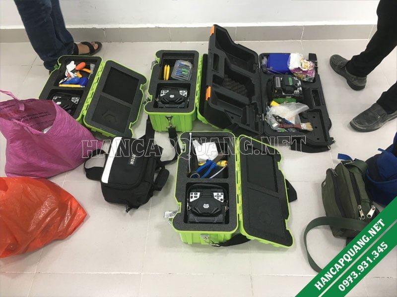 4 máy hàn quang (VFV-09S) được sử dụng trong dự án