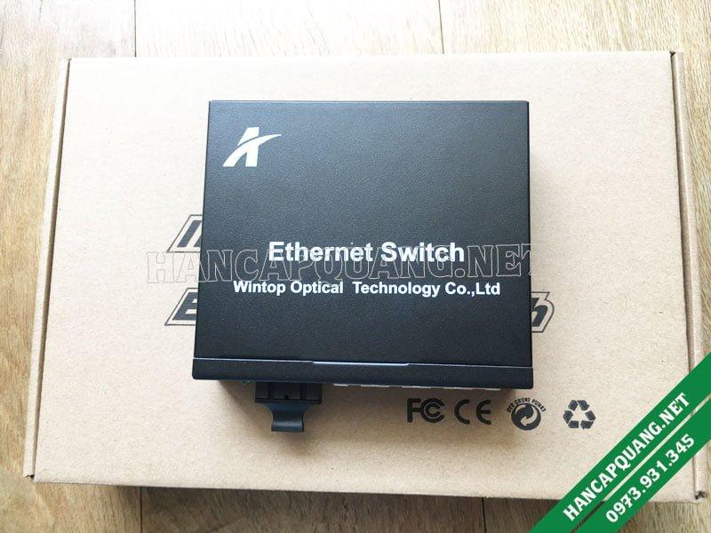 Bộ chuyển đổi quang điện 4 port Lan YT-8110MA-14-2