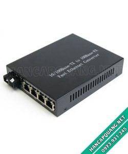 Bộ chuyển đổi quang điện 4 port Lan YT-8110SB-14-20A/B