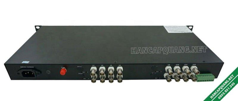 Bộ chuyển đổi Video quang 16 kênh 720P BTON BT-H16V1DF-T/R