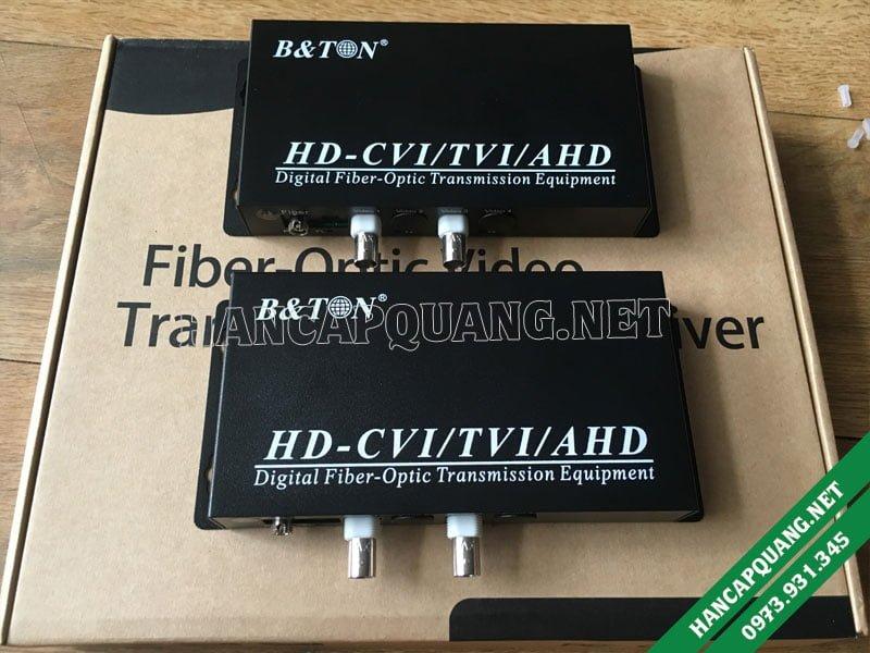 Bộ chuyển đổi Video quang 2 kênh 1080P BTON