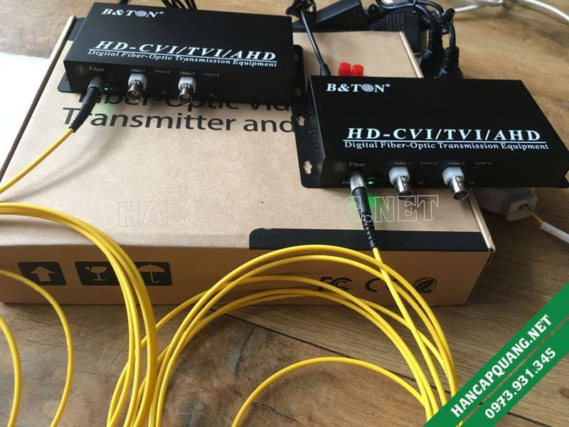 Convevter Video quang 2 kênh BT-HD2V1DF-T/R 1080P