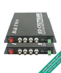 Bộ chuyển đổi Video quang 4 kênh 720P BTON