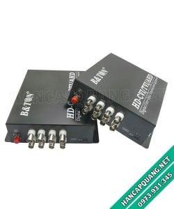 Bộ chuyển đổi Video quang 8 kênh 720P BTON