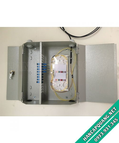 Hộp phối quang ODF 12FO treo tường trong nhà (Indoor)