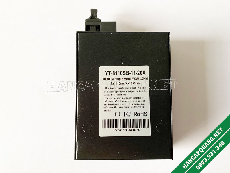 Media converter Wintop 8110SB-11-20AB