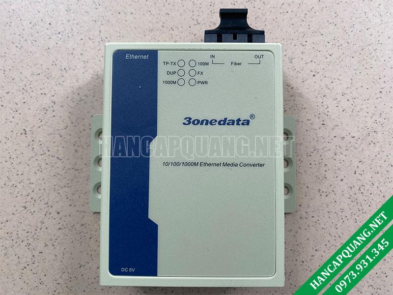 Bộ chuyển đổi quang điện 3Onedata Model 3102-SS-SC-20KM