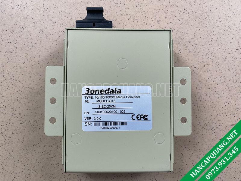 Bộ chuyển đổi quang điện 3Onedata Model 3102SS