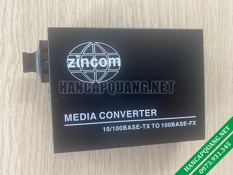 Bộ chuyển đổi quang điện ZINCOM ZC-100M 2 sợi 10/100M