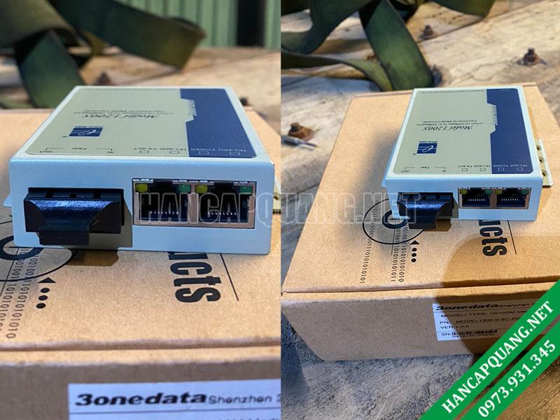 Bộ chuyển đổi quang điện 3Onedata Model 1200-S-SC-20Km