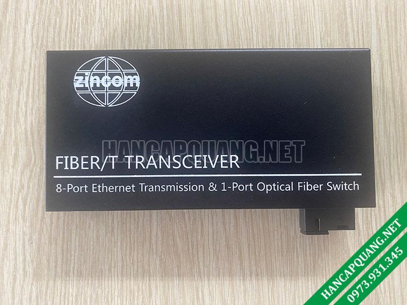 Converter quang Zincom 8 Cổng Ethernet 10/100M ZC-100MA-8E