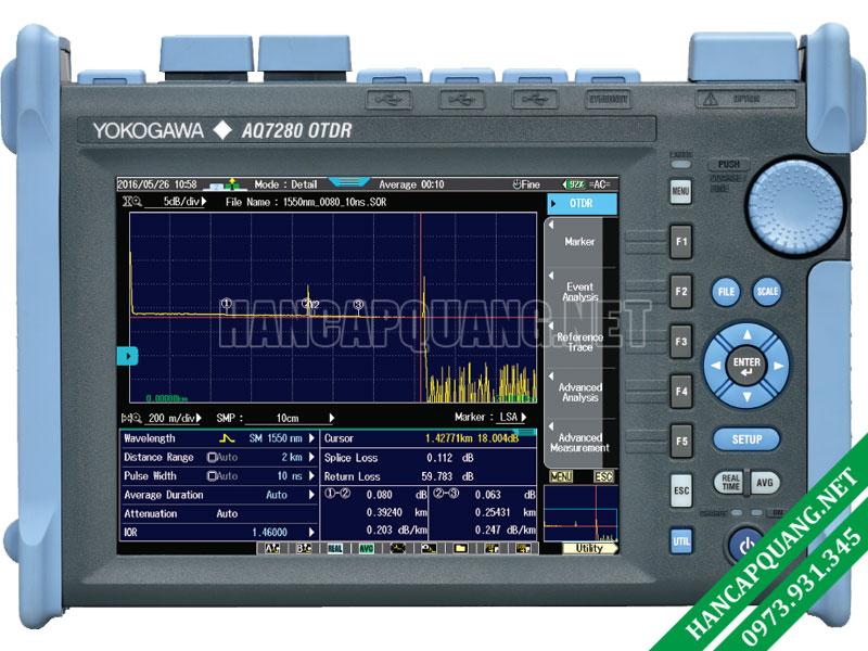 Hướng dẫn cách sử dụng máy đo OTDR Yokogawa AQ7280