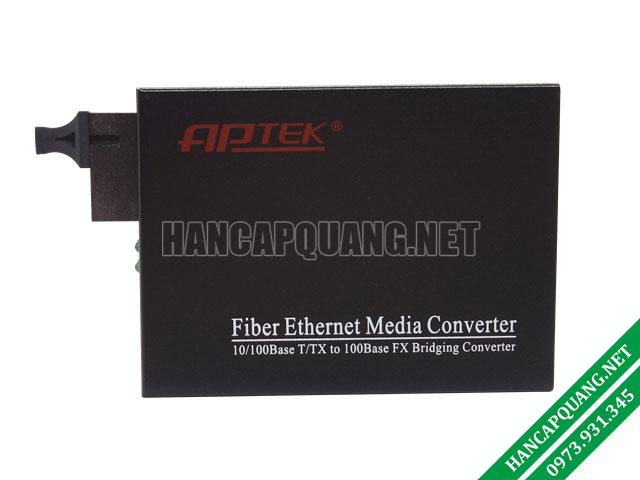 AP100-20A bộ chuyển đổi quang điện APTEK 10/100M