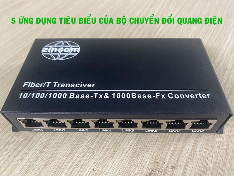 Top 5 ứng dụng tiêu biểu của converter quang điện
