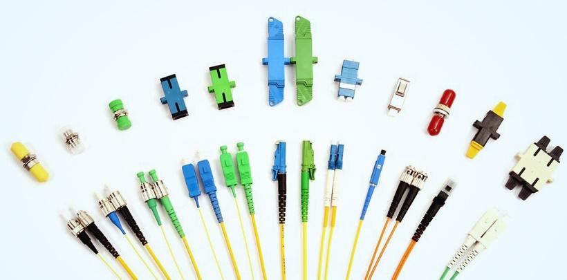 Hình 4: Các loại adapter sợi quang