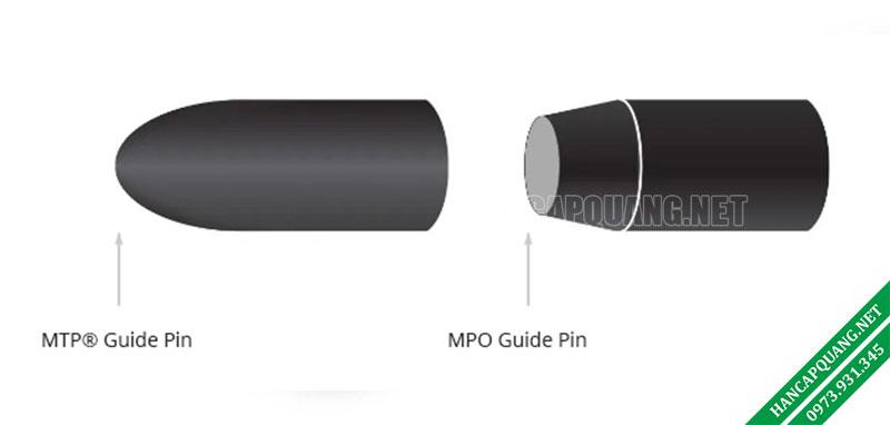 Hình 2: Chân dẫn hướng cáp MTP và MPO